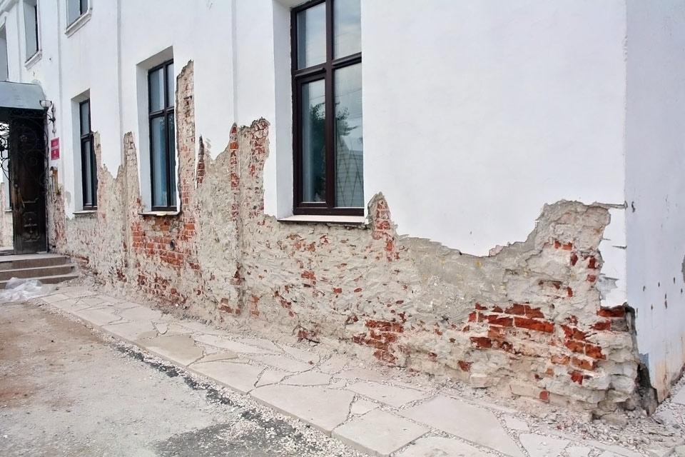 старый фасад